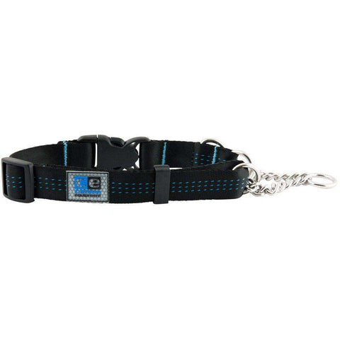 Canine Equipment Quick Release Martingale Black, Dog Collars, RC Pet Products - PetMax Canada