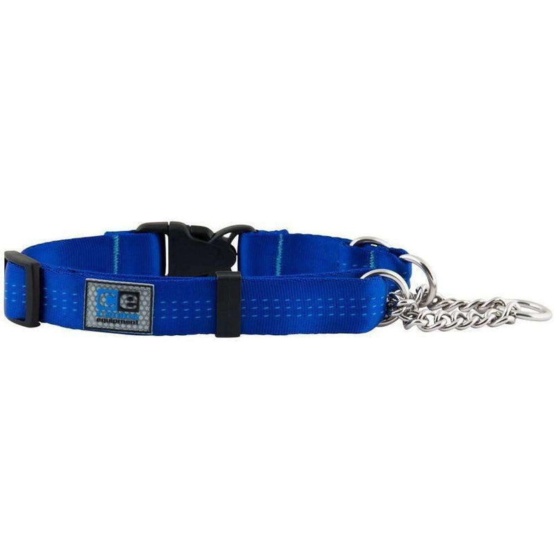 Canine Equipment Quick Release Martingale Blue  Dog Collars - PetMax
