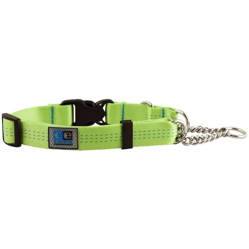 Canine Equipment Quick Release Martingale Lime  Dog Collars - PetMax