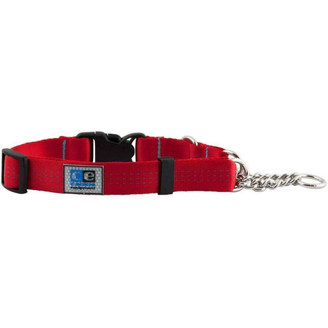 Canine Equipment Quick Release Martingale Red, Dog Collars, RC Pet Products - PetMax Canada