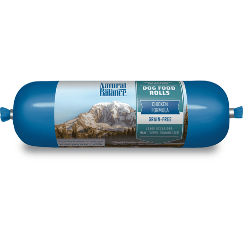 Natural Balance Dog Food Rolls Chicken