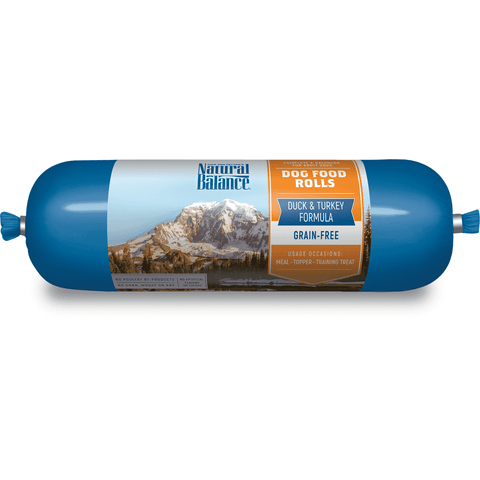 Natural Balance Dog Food Rolls Duck & Turkey
