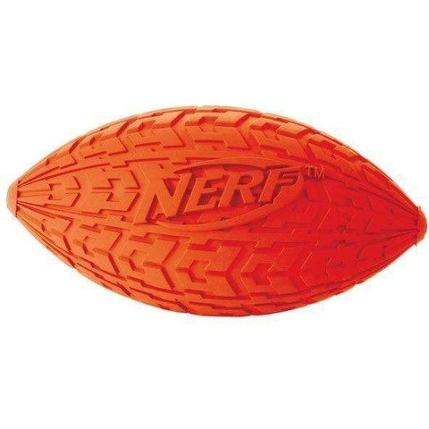 Nerf Dog Trax Squeak Football, Dog Toys, Rolf C Hagen Inc. - PetMax Canada