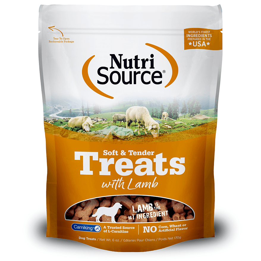 Nutri Source Tender Dog Treats Lamb  Dog Treats - PetMax