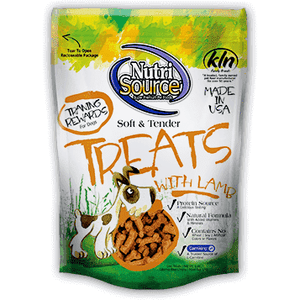 Nutri Source Tender Dog Treats Lamb | Dog Treats -  pet-max.myshopify.com