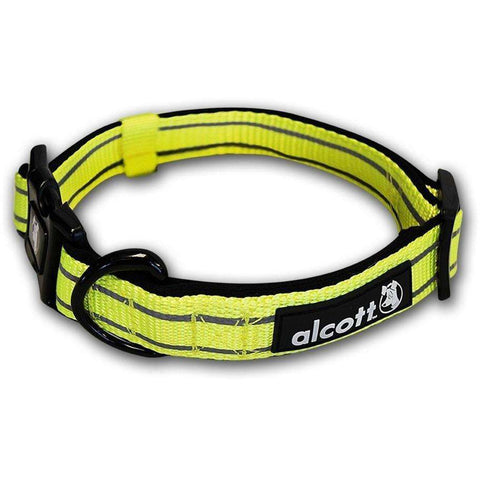 Alcott Adventure Adjustable Collar Neon Yellow