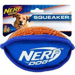 Nerf Dog Toy Ruff Cut Football  Dog Toys - PetMax