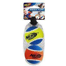 Nerf Dog Toy Mega Strength Balls Medium - 2 Pack Dog Toys - PetMax