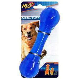 Nerf Dog Toy Ultra Tough TPR Bone  Dog Toys - PetMax
