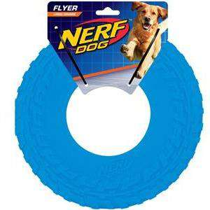Nerf Dog Toy Tire Flyer  Dog Toys - PetMax