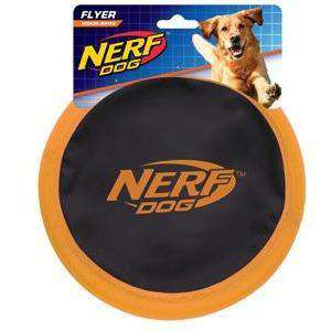Nerf Dog Toy Nylon Zone Flyer  Dog Toys - PetMax