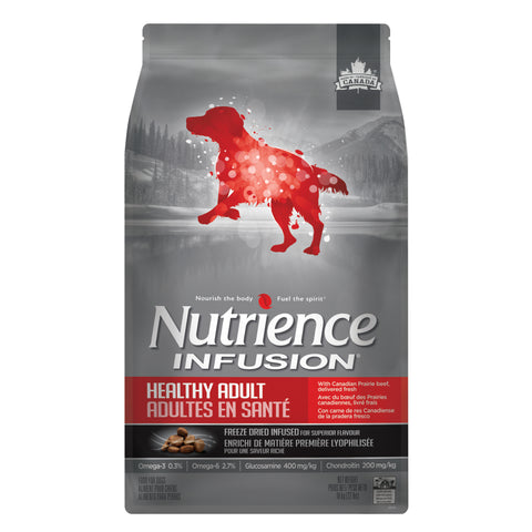Nutrience Infusion Dog Food Adult Beef, Dog Food, Nutrience Pet Food - PetMax