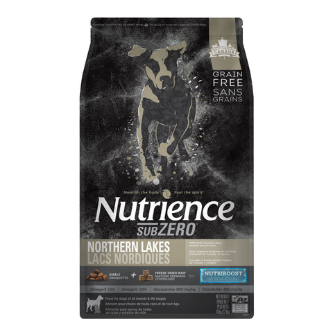 Nutrience Grain Free Dog Food Sub Zero Northern Lakes Duck