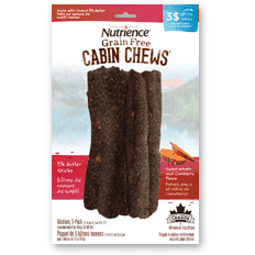 Nutrience Cabin Chews Edible Antler Sticks, Chew Products, Rolf C Hagen Inc. - PetMax