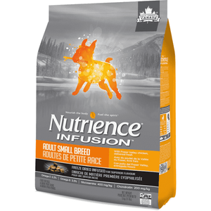 Nutrience Infusion Small Breed Adult Dog Food Chicken | Dog Food -  pet-max.myshopify.com