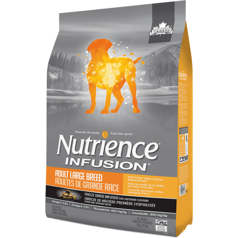 Nutrience Infusion Adult Large Breed Chicken | Dog Food -  pet-max.myshopify.com
