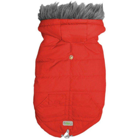 Go Fresh Pet Arctic Parka Red, Clothing, Go Fresh Pet - PetMax