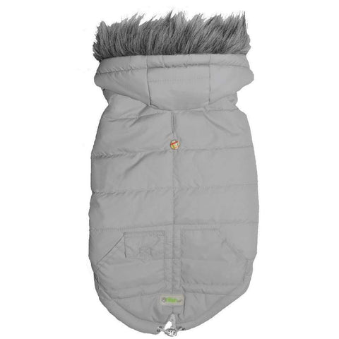 Go Fresh Pet Arctic Parka Grey, Clothing, Go Fresh Pet - PetMax