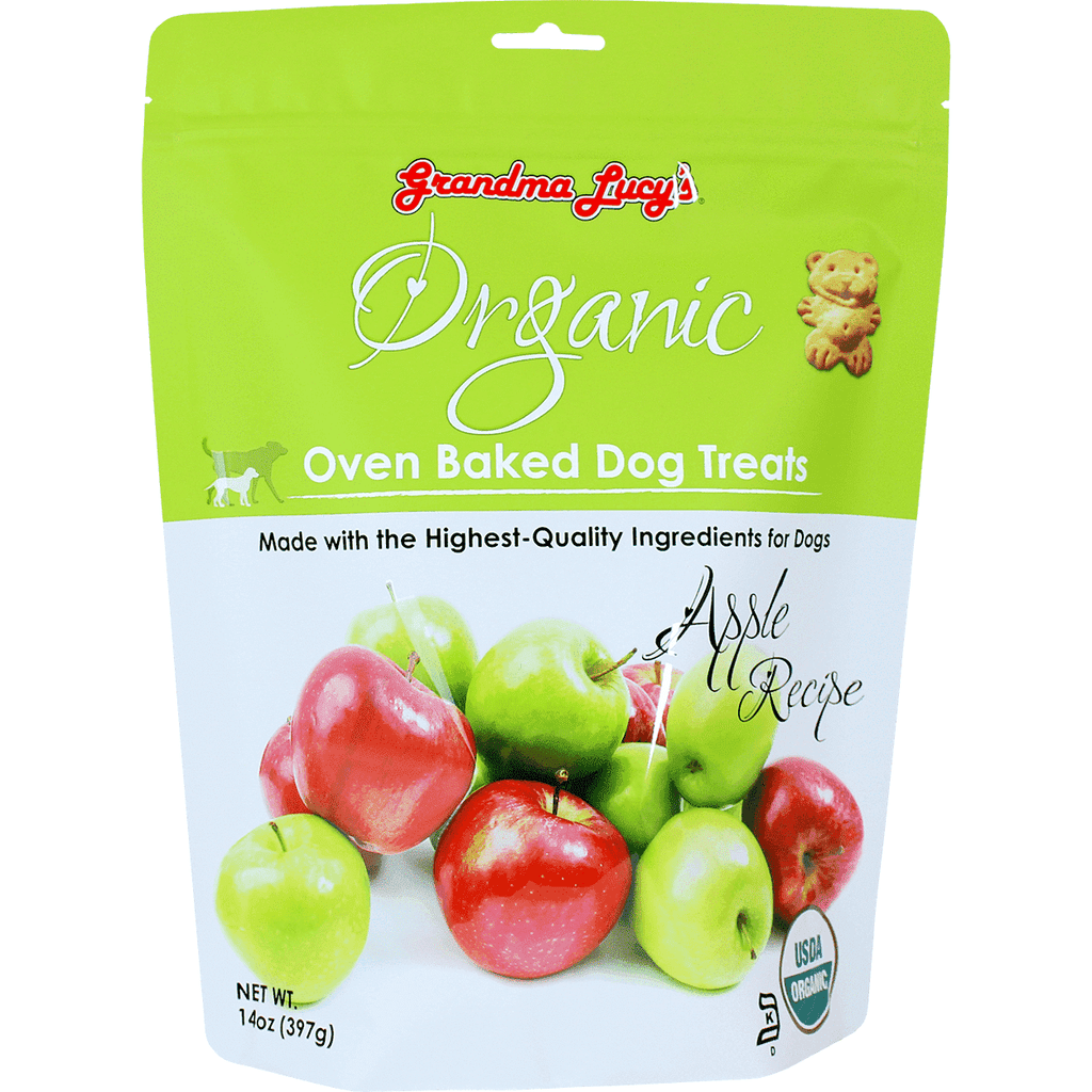 Grandma Lucy's Organic Baked Apple Treats | Dog Treats -  pet-max.myshopify.com