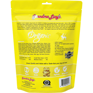 Grandma Lucy's Organic Baked Banana & Sweet Potato Treats  Dog Treats - PetMax