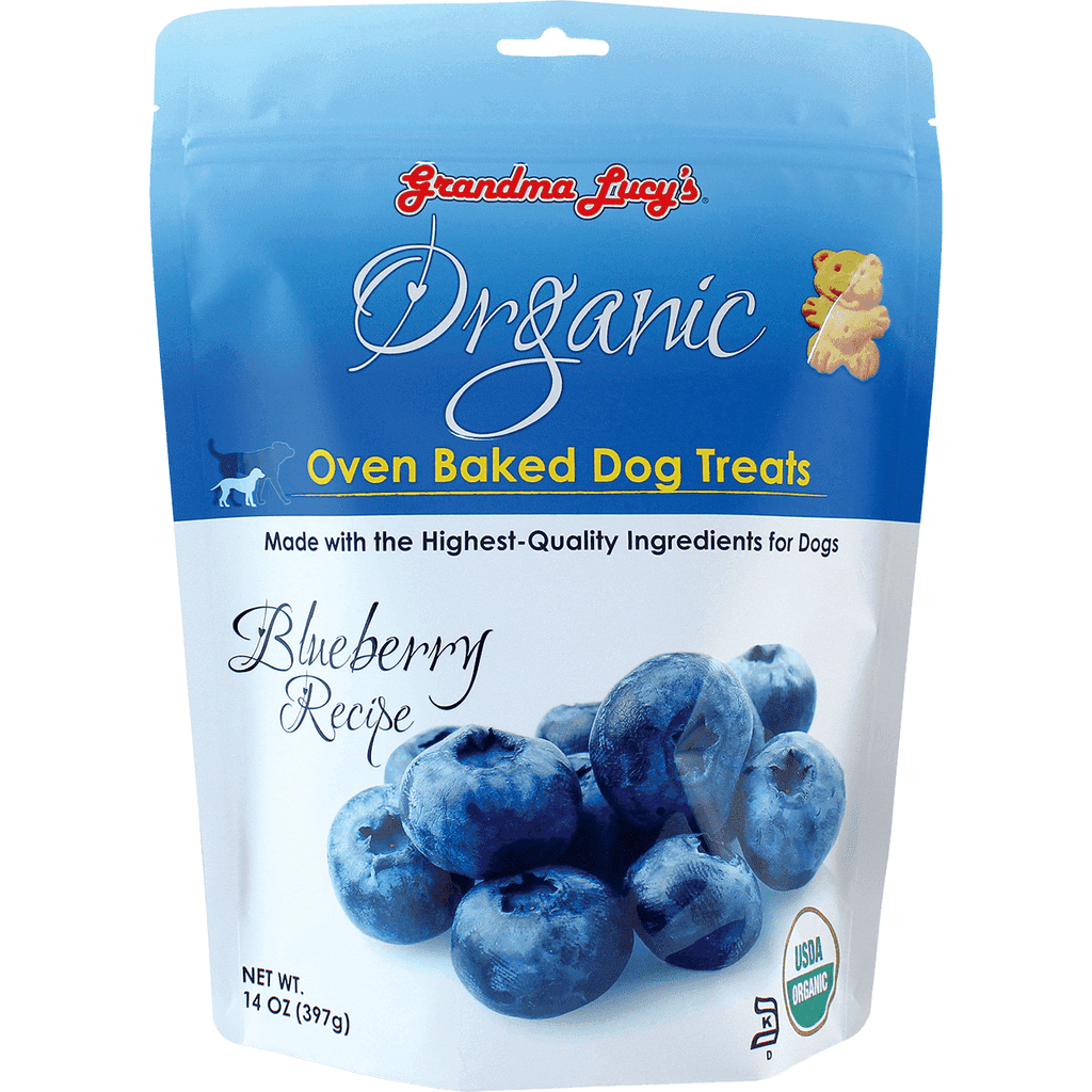 Grandma Lucy's Organic Baked Blueberry Treats | Dog Treats -  pet-max.myshopify.com