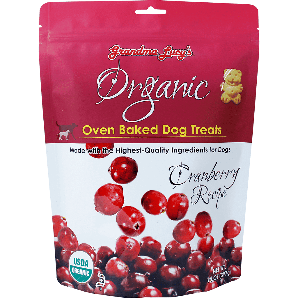 Grandma Lucy's Organic Baked Cranberry Treats | Dog Treats -  pet-max.myshopify.com
