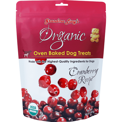Grandma Lucy's Organic Baked Cranberry Treats