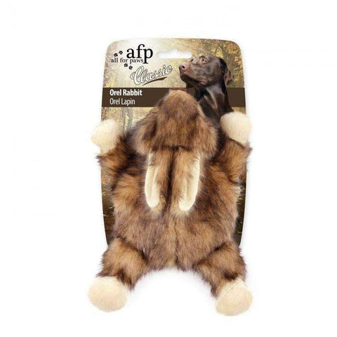 All For Paws Classic Orel Rabbit Dog Toy, Dog Toys, Rolf C. Hagen - PetMax Canada