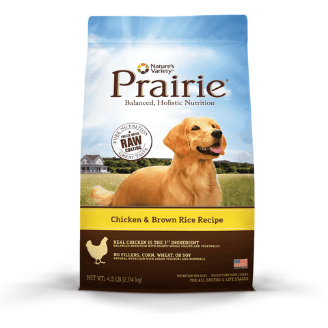 Nature's Variety Prairie Chicken & Rice, Dog Food, Natures Variety - PetMax Canada