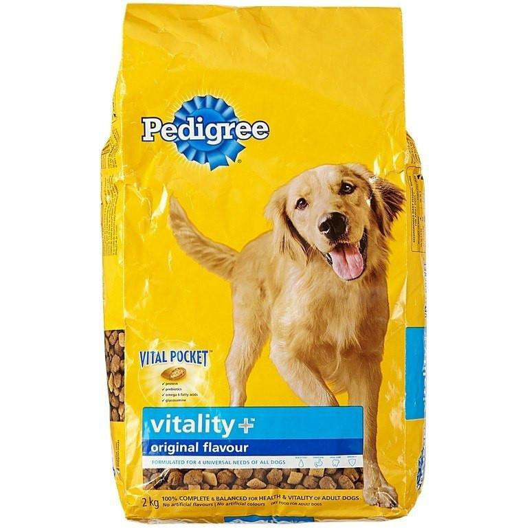 Pedigree Healthy Vitality | Dog Food -  pet-max.myshopify.com