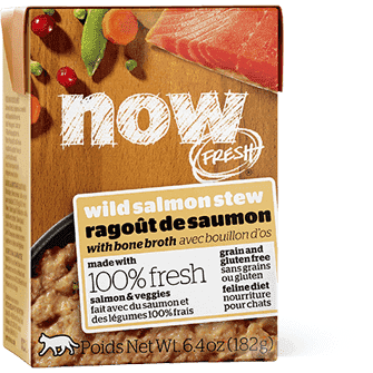 Now! Fresh Grain Free Tetra Pak Cat Wild Salmon Stew  Canned Cat Food - PetMax
