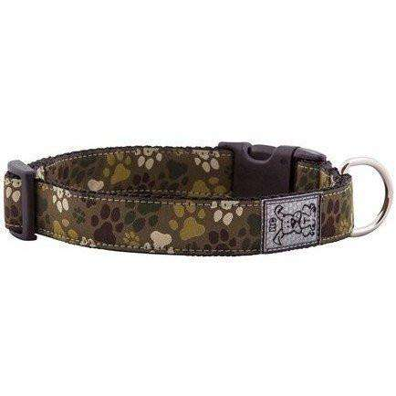 RC Dog Adjustable Collar Pattern Camo Paws, Dog Collars, RC Pet Products - PetMax Canada