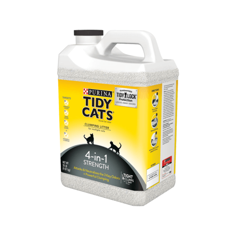 Tidy Cat Lightweight Clumping Litter 4-In-1 Jug  Cat Litter - PetMax