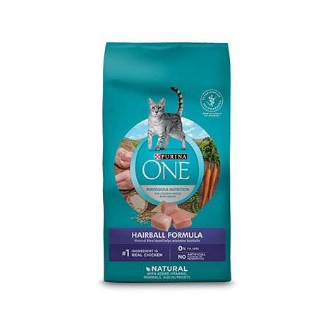 Purina ONE Cat Food Adult Chicken Hairball  Dry Cat Food - PetMax