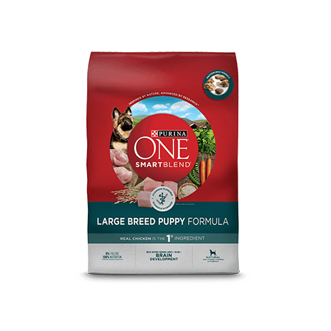 Purina ONE Smartblend Large Breed Puppy Food Chicken & Rice  Dog Food - PetMax