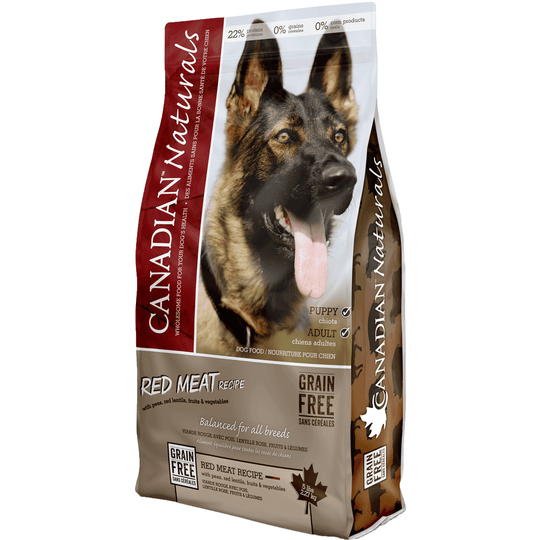 Canadian Naturals Grain Free Red Meat, Dog Food, Canadian Naturals - PetMax Canada