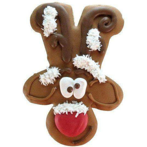 Bosco & Roxy Howl-I-Days Packaged Rudolph 8""