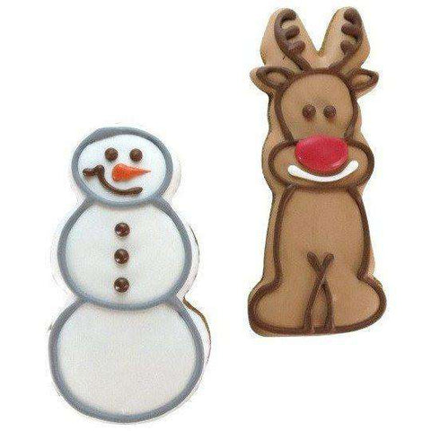 Bosco & Roxy Howl-I-Days Packaged Snowman Or Rudolph 5""