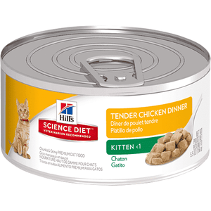 Science Diet Feline Tender Dinners Kitten Chicken - Case of 24 | Canned Cat Food -  pet-max.myshopify.com