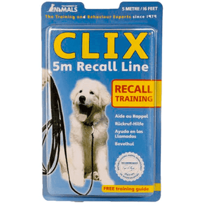 Clix Long Recall Line Training Lead 5 Meters Training Products - PetMax