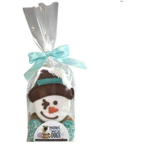 Bosco & Roxy Howl-I-Days Snowman Cello