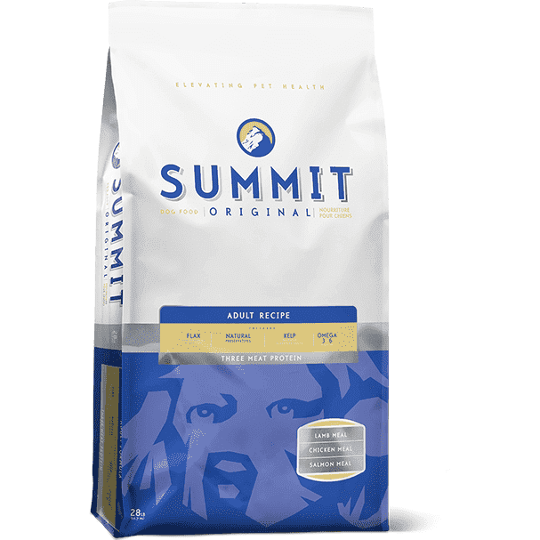 Summit Adult Dog Food 3 Meat Protein, Dog Food, Petcurean - PetMax Canada