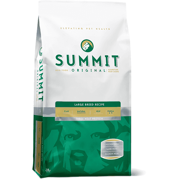 Summit Dog Food Large Breed Adult 3 Meat Protein  Dog Food - PetMax