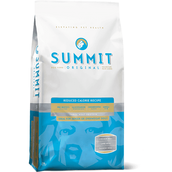 Summit Dog Food Reduced Calorie 3 Meat Protein, Dog Food, Petcurean - PetMax Canada