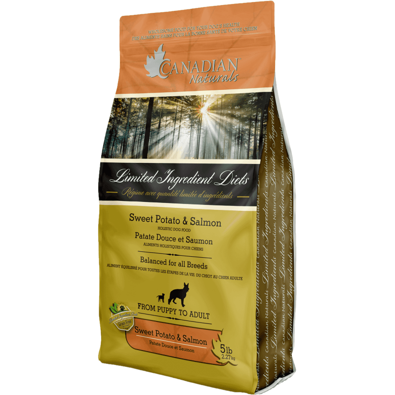 Canadian Naturals L.I.D. Sweet Potato & Salmon | Dog Food -  pet-max.myshopify.com