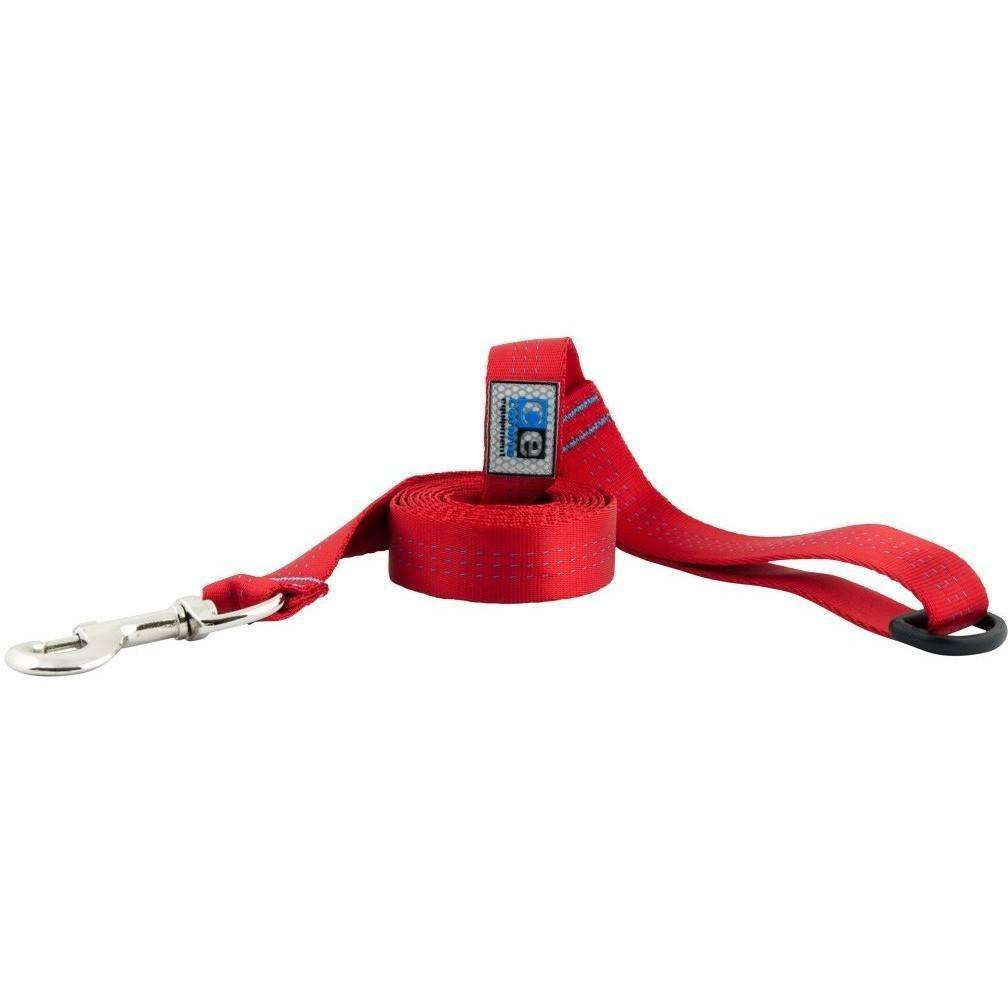 Canine Equipment Traffic Leash Red 3/4 X 6 Leashes - PetMax