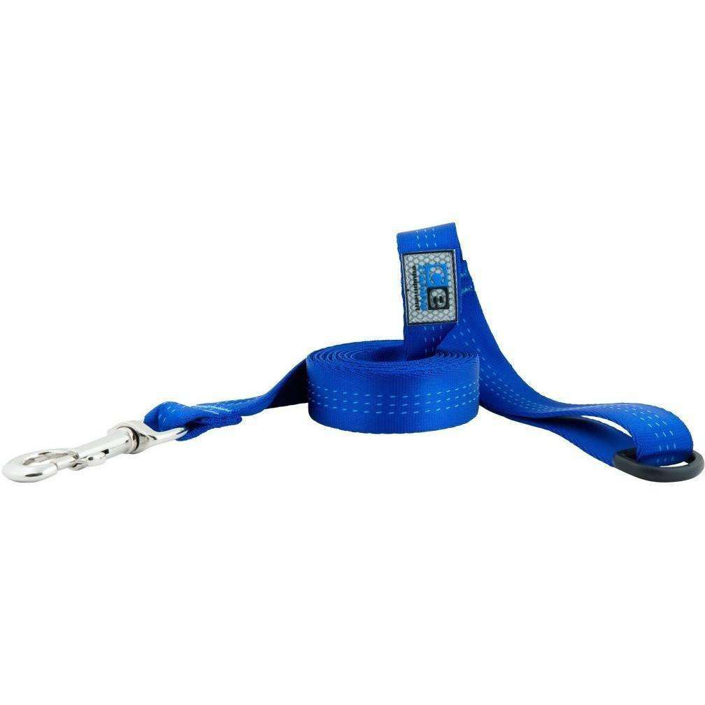 Canine Equipment Traffic Leash Blue 3/4 X 6 Leashes - PetMax