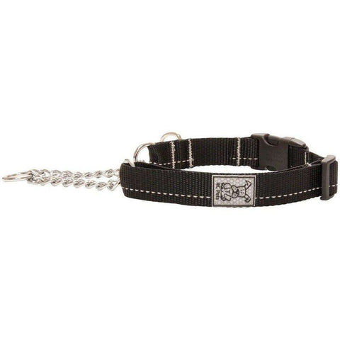 RC Dog Training Clip Collar Black