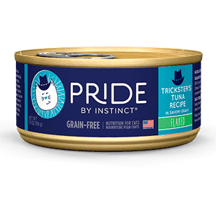 Instinct Pride Cat Can Grain Free Tricksters Tuna, Canned Cat Food, Nature's Variety - PetMax