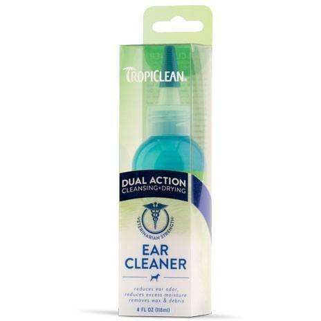 Tropiclean Daul Action Ear Cleaner  Dog Health Care - PetMax